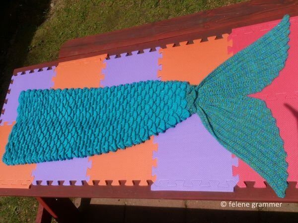 Mermaid Lap Blanket