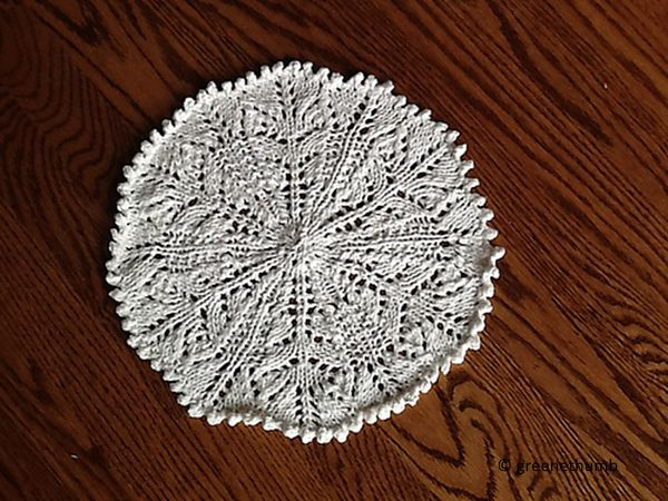 It's a Doily, Not a Dishcloth!