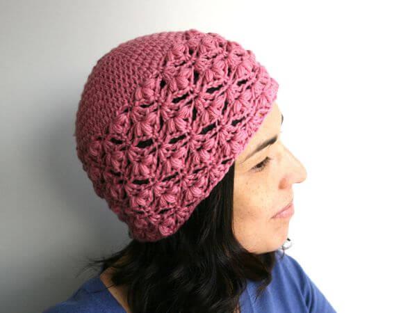crochet women beanie