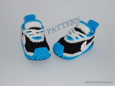 Baby Sneakers Pattern