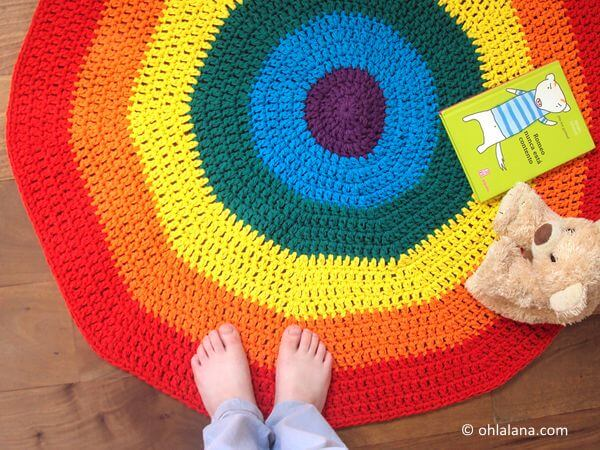 Rainbow Playmat Rug
