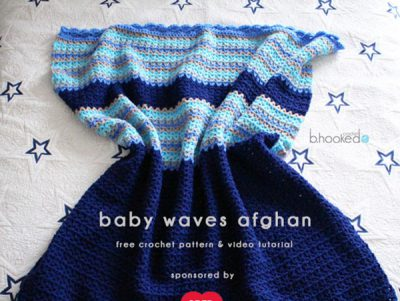 CROCHET BABY WAVES AFGHAN