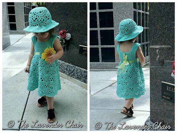 Lacy Shells Dress