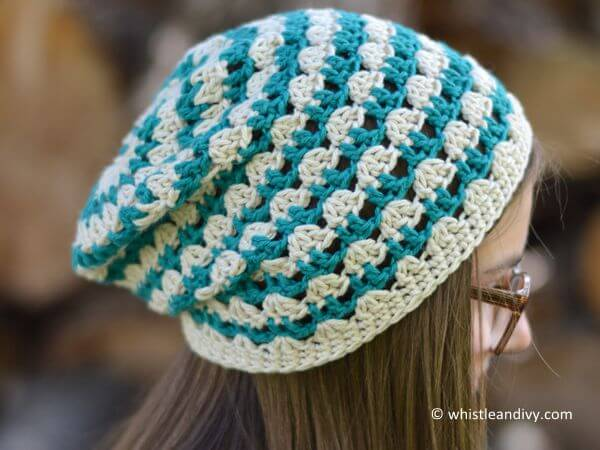 Summer Festival Slouchy Hat Share a Pattern