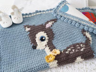 Hello Deer Blanket