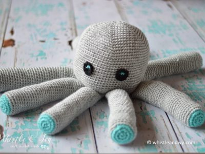 Plush Crochet Octopus Amigurumi