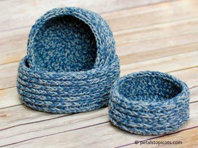 Chunky Nesting Baskets
