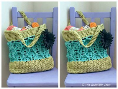 Wheat Fields Market Tote
