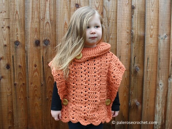 CROCHET SHELL TODDLER PULLOVER PATTERN