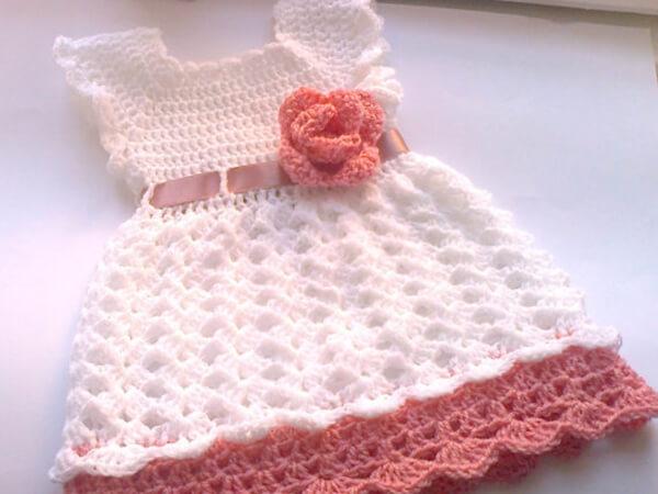 Baby Girl Dress Crochet Pattern