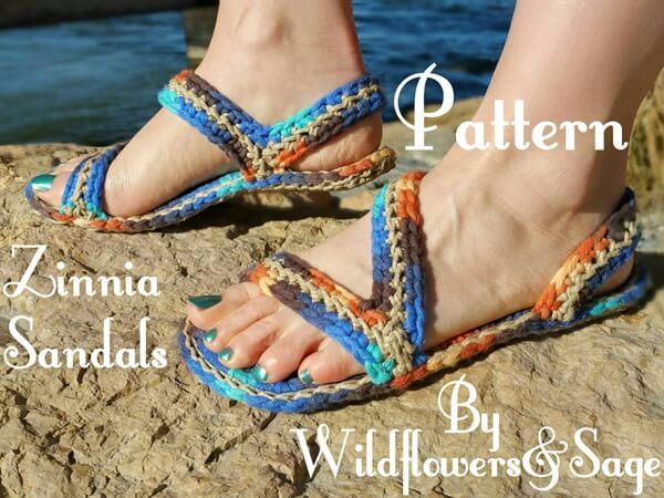 Zinnia Sandals