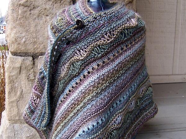 Stitch Sampler Shawl