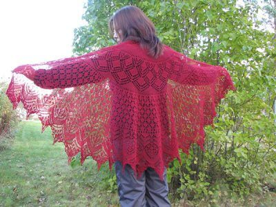 Vernal Equinox Shawl Surprise Shawl