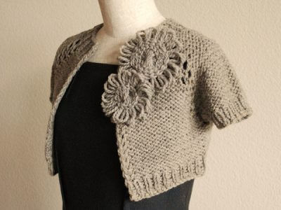 Anthropologie-Inspired Capelet Shrug