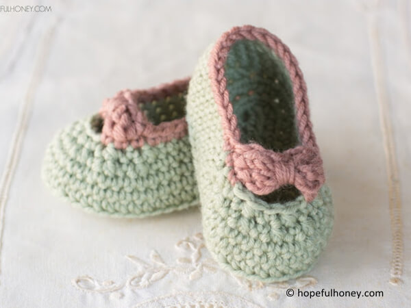 Little Lady Baby Booties