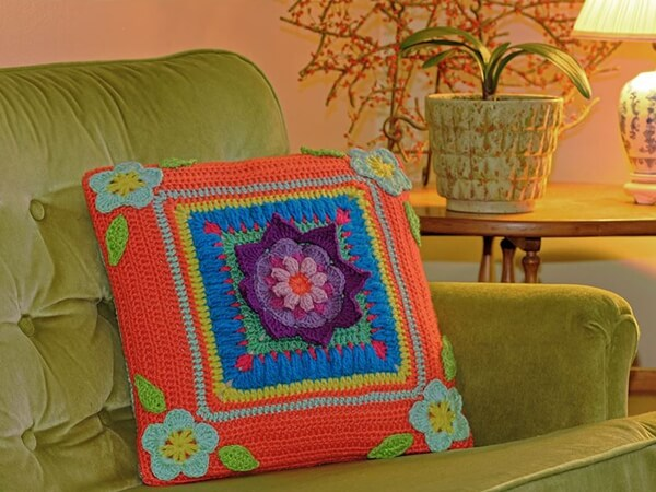 Blooming Daydreams Throw Pillow