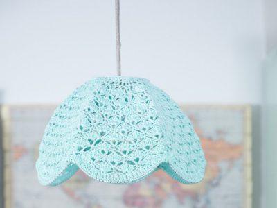 crochet lampshade PDF pattern