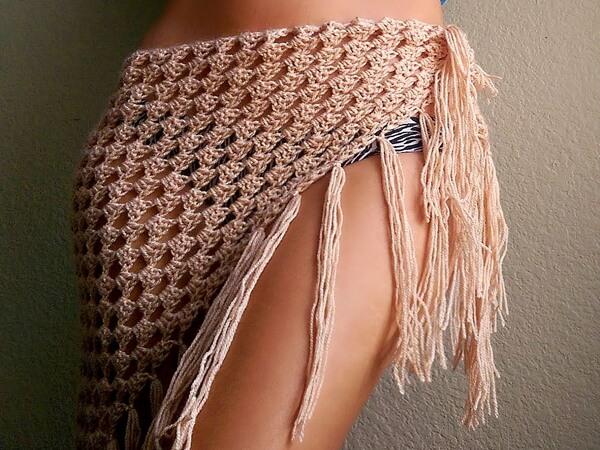 Crochet Boho Sarong