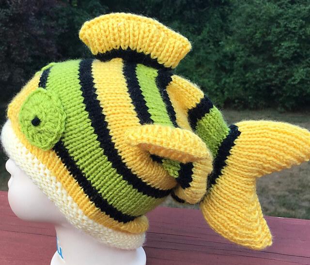 Knitty Fish Hat Share A Pattern