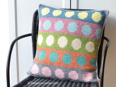 Tapestry Circles Pillow