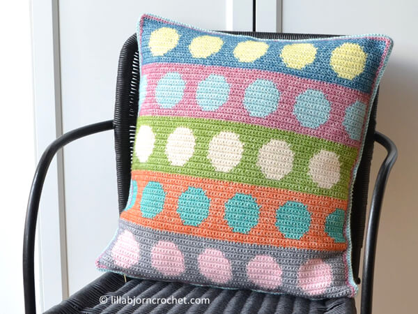 Tapestry Circles Pillow