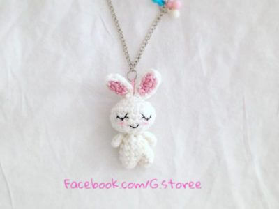 TINY RABBIT CHARM AMIGURUMI