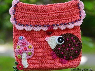Little hedgehog purse