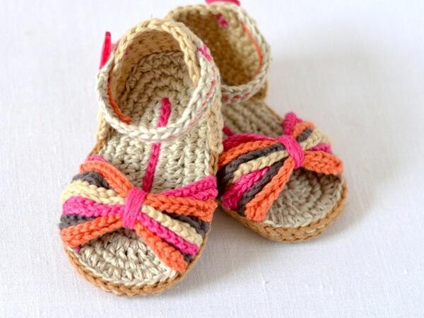 Paris Style Baby Shoes