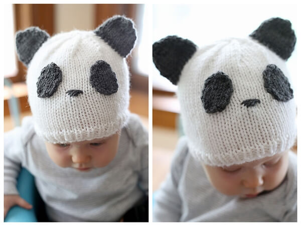 Sweet Panda Hat