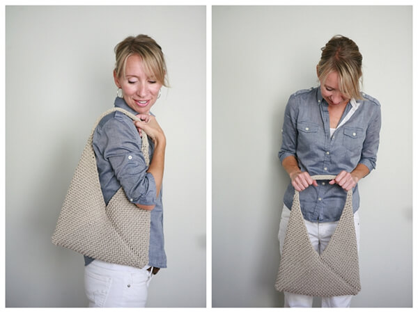 TOLT FOLDED BAG WITH VERONIKA