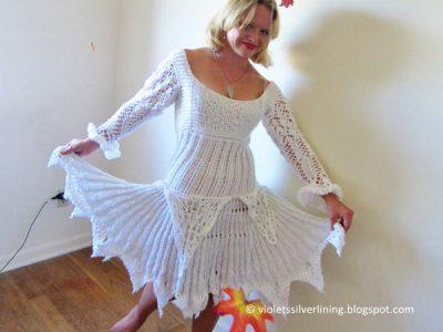 Snow White Ice Princess Lace Dress