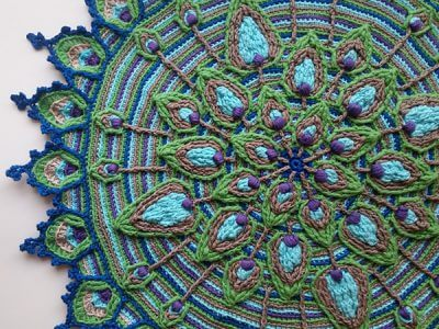 Peacock Feather Mandala