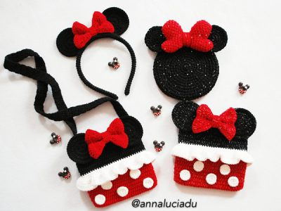 Crochet Minnie Mouse Pack