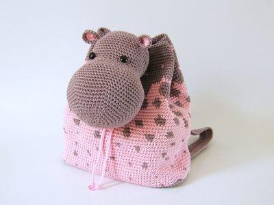 Hippo Backpack Bag