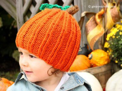 TODDLER PUMPKIN HAT