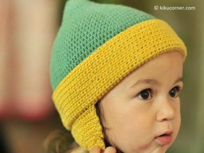 Crochet Toddler Earflap Hat