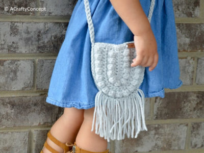 Toddler Boho Bag
