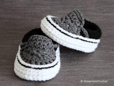 Vans style baby sneakers