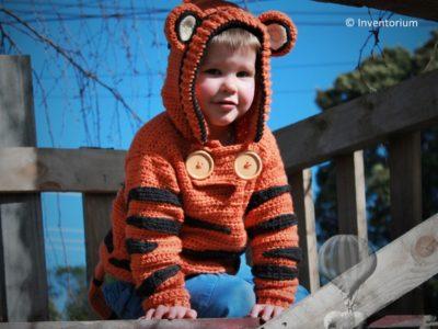 Boys Cute Tiger Sweater
