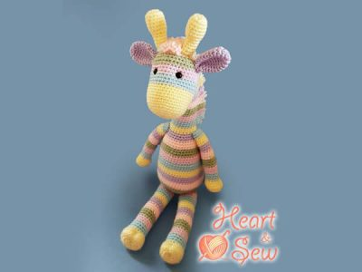 Julie's Giraffe - Crochet Amigurumi Pattern