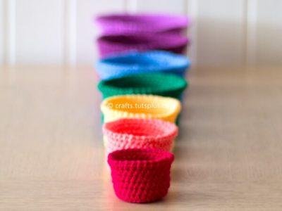 Rainbow Nesting Baskets