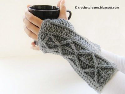 Adeline Fingerless Mitts
