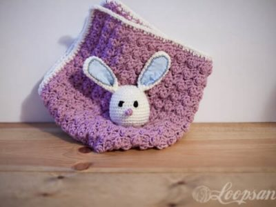 The Bunny Car Seat Blanket