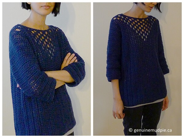 Sideways Sweater