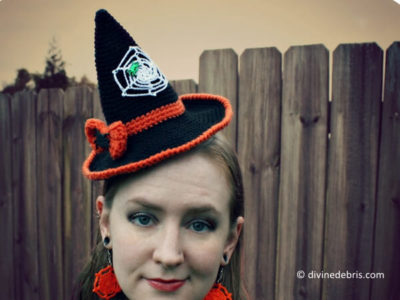 Crochet Witch Hat
