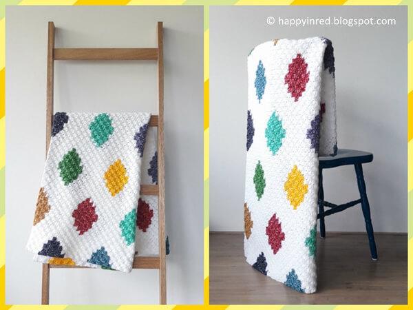 C2c Harlequin Blanket Share A Pattern