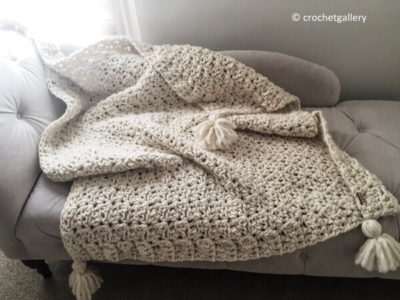 Chunky Blanket Throw Afghan