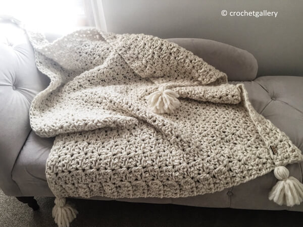 Chunky Blanket Throw Afghan