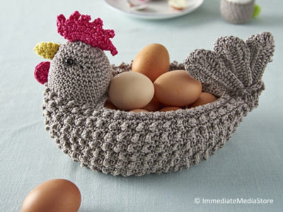 Chicken-shaped Egg Basket