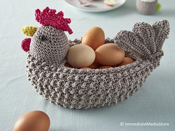 Chicken-shaped Egg Basket